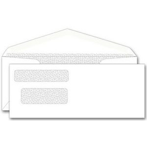 One-Write® Center Write Check Dual Window Envelope