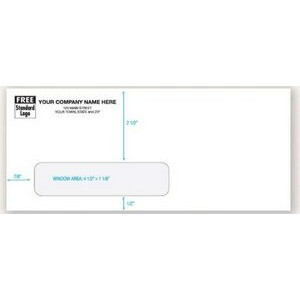 #10 Standard Self-Seal Single-Window Envelope