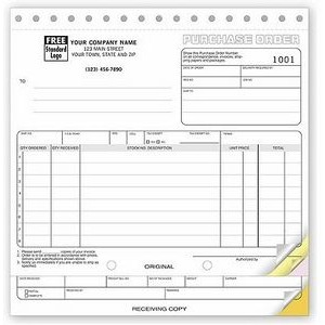 Classic Collection™ Purchase Order Form (5 Part)