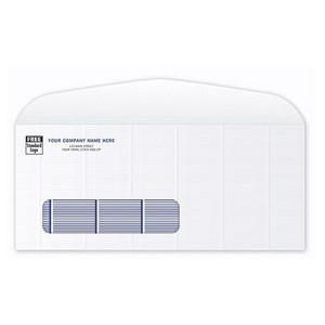 #10 Standard Confidential Security-Tint Single-Window Envelope