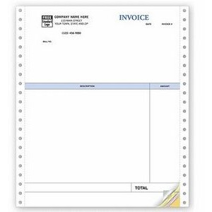 Classic Professional Invoice (3 Part)