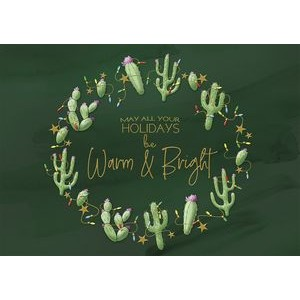 Cactus Country Holiday Cards