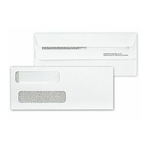 Classic Collection™ Confidential Dual-Window Envelope w/ Self Seal