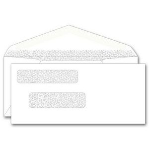 One-Write® Center Write Check Dual Window Envelope w/ Gummed Flap