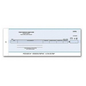 One-Write® Accounts Payable Center Check (1 Part)