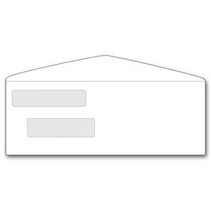 One-Write® Top Write Check Dual Window Envelope