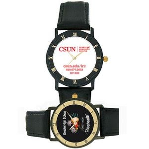 Trendy Collection Watch w/Roman Numerals on Case