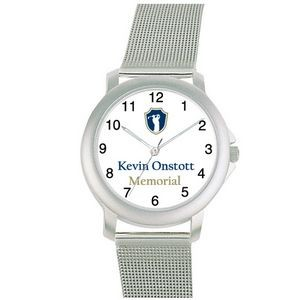 Budget Collection Matte Silver color Watch