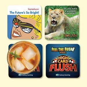 "Origin'L Fabric® 4""x4""x1/8"" Antimicrobial Fabric Coaster"