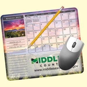 """MousePaper® Calendar 12 Month 7.25""""x8.5"""" Paper Mouse Pad"""