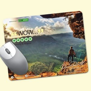"Origin'L Fabric® 7""x9""x1/4"" Antimicrobial Mouse Pad"