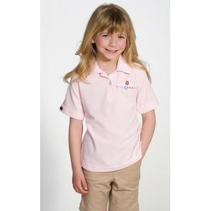 Girl's Titan Polywaffle Polo Shirt