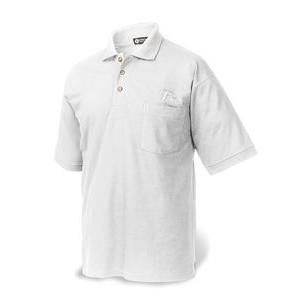 Men's Classic Ringspun Combed Cotton Piqué Polo w/Pocket