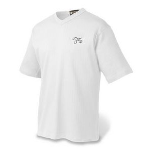 Men's Drop Needle V-Neck Sport Shirt