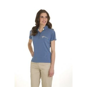 Women's Park Avenue Bamboo Polo Short Sleeve Shirt