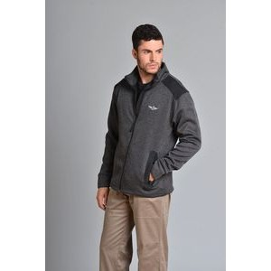 Men's Rochester Full Zip Sweater w/Microfleece Lining