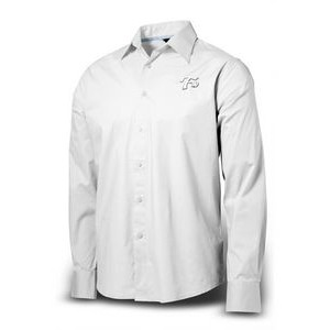 Men's Executive Twill Stretch Woven Shirt