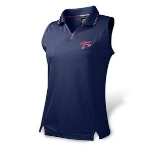 Women's Ferst-Dry™ Princess Line Sleeveless Honeycomb Polo