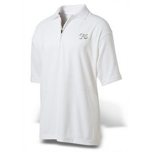 Men's Ferst-Dry™ Polymesh Polo w/Swing Design