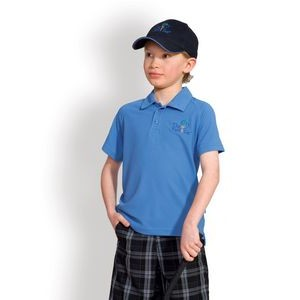Boy's Titan Polywaffle Polo Shirt