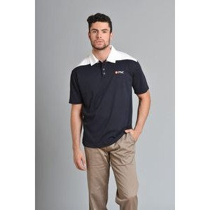 Men's Lancaster Polo Shirt w/Contrasting Collar