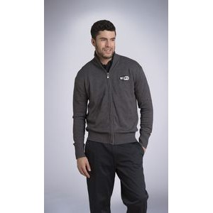 Men's Full Zipper Alpine Sweater