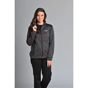 Women's Rochester Full Zip Sweater w/Microfleece Lining