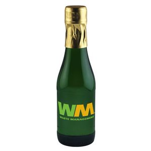 187Ml Mini California Champagne (Sparkling Wine) Etched with 2 Color Fills