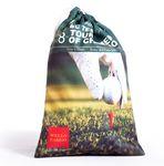 Custom Golf Drawstring Ditty Bag