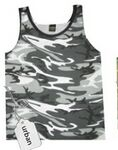 Custom Camouflage Sleeveless Tank Top (Small-X-Large)