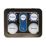 Custom 2 Ball Tin Gift Set w/ SwitchFix Divot Tool