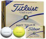 Custom Titleist NXT Tour S Golf Balls (White)