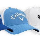 Callaway® Mesh Fitted Cap - Large/X-Large (Light Blue)