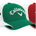 Callaway® Mesh Fitted Cap - Small/Medium (Green/White)