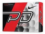 Custom Nike PD Long Golf Balls