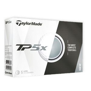 White TaylorMade® TP5x Golf Balls
