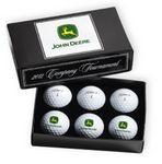 Custom PackEdge Tournament Custom Box w/ 1/2 Dozen Titleist Pro V1