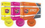 Custom Wilson Staff 50 Elite Orange Golf Balls