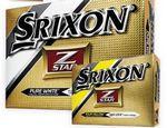 Custom Srixon Z Star Golf Balls - White