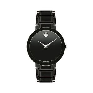Gents' Movado Sapphire Watch w/Black Dial