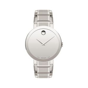 Gents' Movado Sapphire Watch w/White Dial