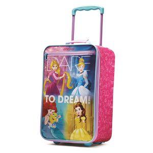 American Tourister 18 Softside Upright Disney Princess Suitcase