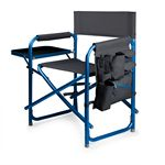 Custom Sports Chair Portable Folding Chair w/ Integrated Side Table