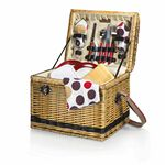 Custom Yellowstone - Moka Picnic Basket w/ Deluxe Service for 2