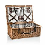 Custom Newbury Picnic Basket with Service for 4