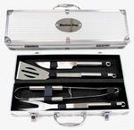 Custom BBQ Tool Set with Aluminum Case