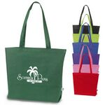 Custom Recyclable Open Tote Bag w/ 28