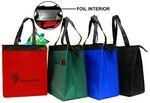 Custom Insulated Tote Bag w/ Foil Lining Interior