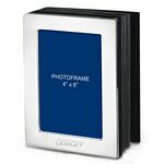 Custom Metal Picture Frame Album In Brushed Silver Finish (4