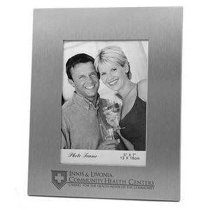 "Metal Picture Frame for 5""x7"" Photo"